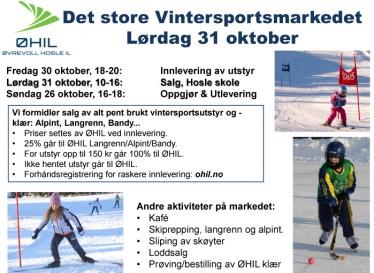 ØHIL Vintersportsmarked 2015 - Plakatweb